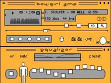 BoyGirl Amp Orange