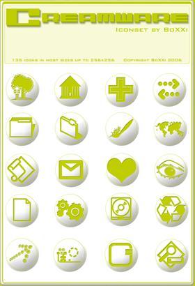 Creamware Icons