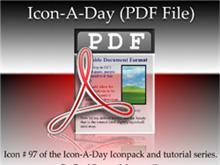 Icon-A-Day #97 (PDF File)