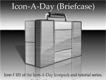 Icon-A-Day #101 Briefcase