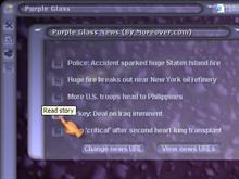 Purple Glass - News Module