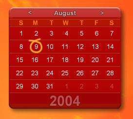 Calendar for CUI