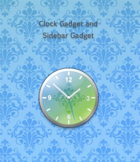 Primavera Clock Gadget
