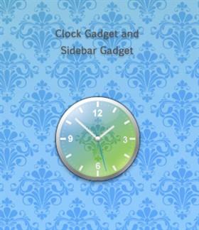 Primavera Clock Gadget