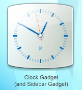 Laguna Clock Gadget