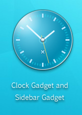 Intrada Clock Gadget