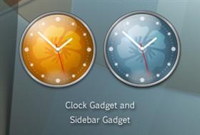 Lantana Clock Gadgets