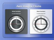 Aero Image Clock