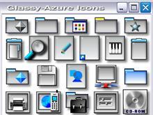 Glassy-Azure  Icons