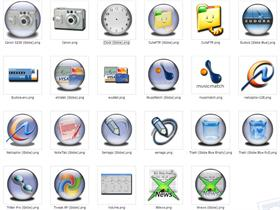 Various Dock icons