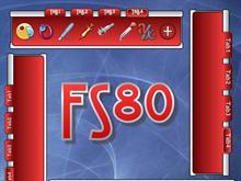 FS80 tabbed dock
