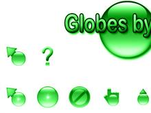 Globes by Jim - Green
