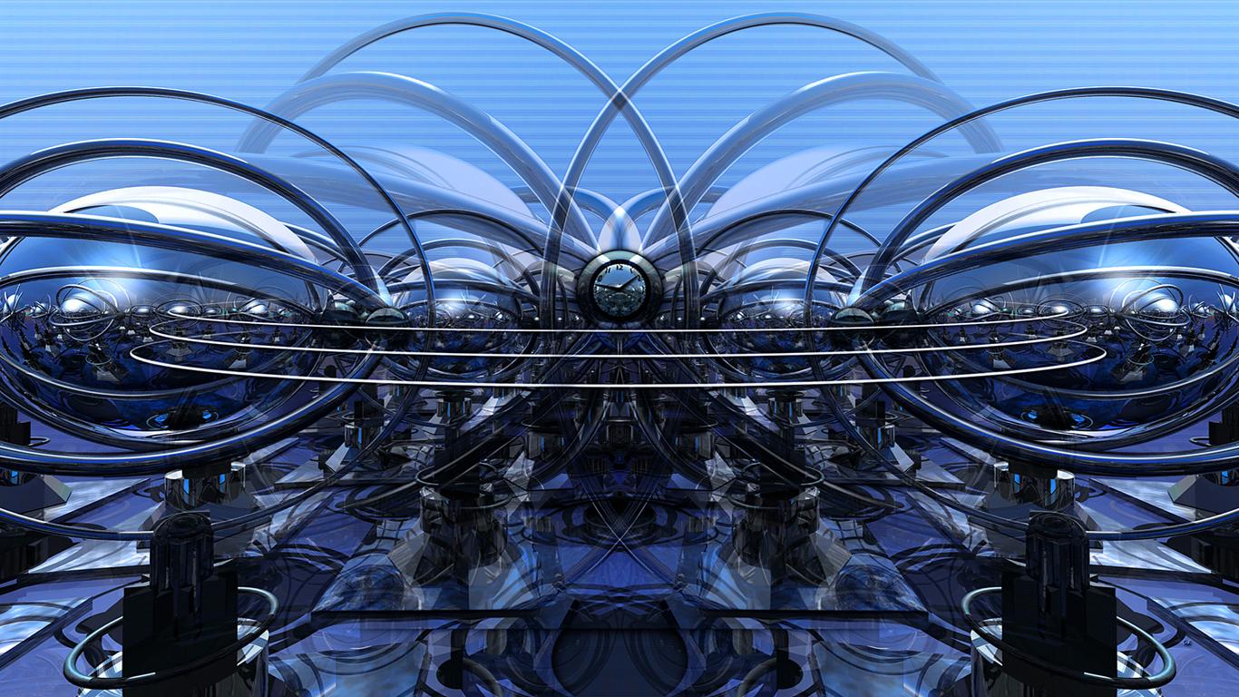Atomic Clock Blu
