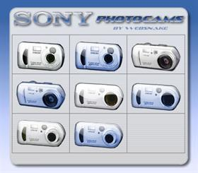 SONY photocams