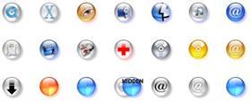 Glass butons 2