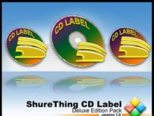 ShureThing CD Label Deluxe Edition Pack