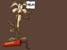 Wile E Coyote Help Vista Style