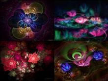 Flowerings Pack 4 by love1008