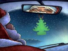 Santa - Rear View