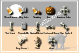 Halloween Cursors