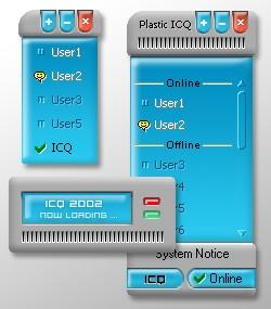 Plastic ICQ