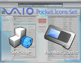 Vaio Pocket Icons Set