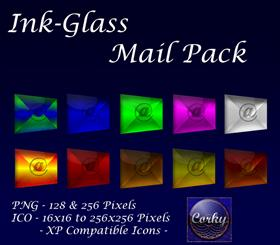 Ink-Glass Mail Pack