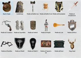 Medieval Icons Pack 2