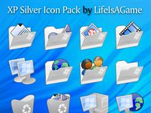 XP Silver Icon Pack