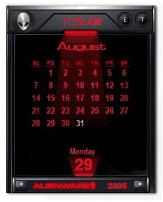 Darkstar Calendar