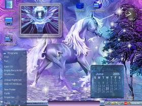 Sparkle Blue Unicorn