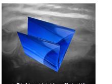 a blue folder