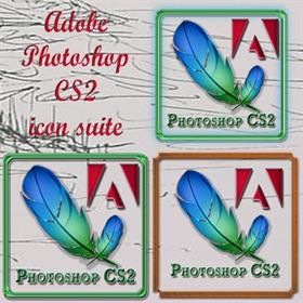 Adobe PhotoshopCS 2 icon suite
