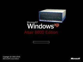 Windows XP Altair 8800 Edition