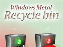 Windows Metal Box Recycle Bin