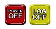 RBM Power Off/Log Off Buttons