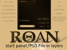 ROAN WB Start Panel
