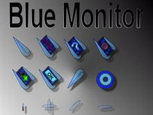 Blue Monitor