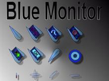 Blue Monitor