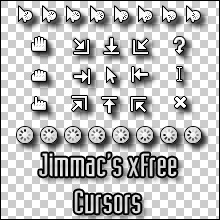 Jimmac's Xfree Cursors