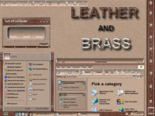 Leather and Brass