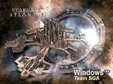 Stargate - Atlantis At The Stargate - Windows XP