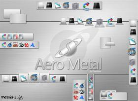 Aero Metal Dock Backgrounds