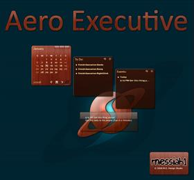 Aero Executive Rainlendar