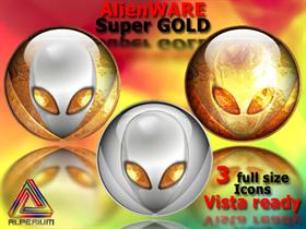 AlienWARE Super Gold Icons