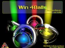 Win 4Balls ScreenSaver ver. 1.1.26