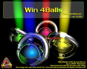 Win 4Balls ScreenSaver ver. 1.1.26