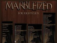 Marbleized