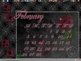 February Gothic Calender