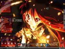 Sapphire on Fire